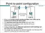 point to point configuration