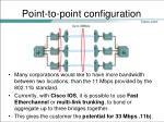 point to point configuration1