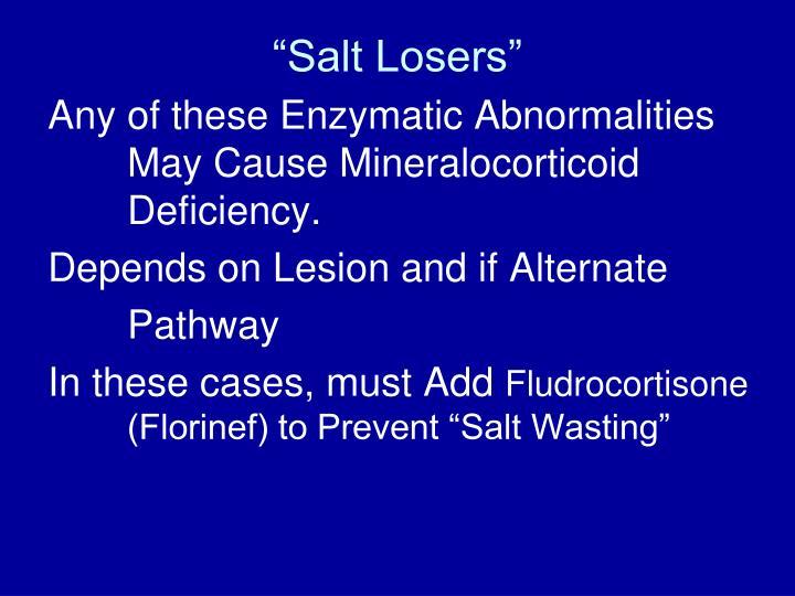 """""""Salt Losers"""""""