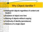 why object identifier