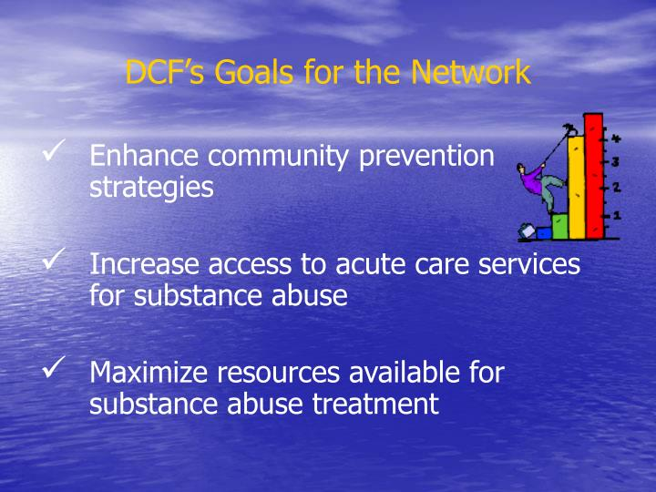 DCF's Goals for the Network