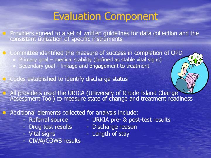 Evaluation Component