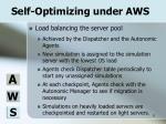 self optimizing under aws