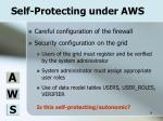 self protecting under aws
