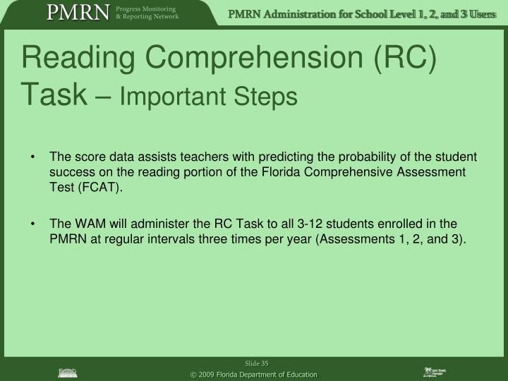 Reading Comprehension (RC) Task
