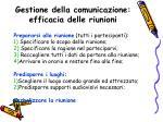 gestione della comunicazione efficacia delle riunioni1