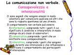 la comunicazione non verbale consapevolezza e intenzionalit