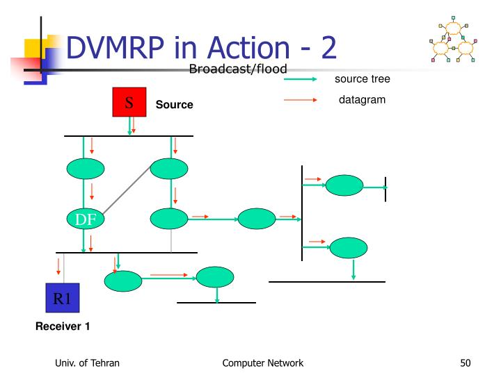 DVMRP in Action - 2