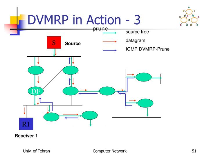 DVMRP in Action - 3