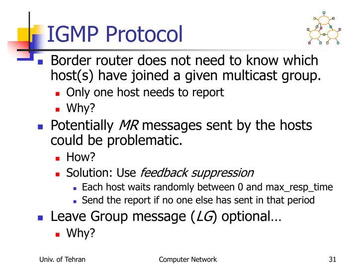 IGMP Protocol