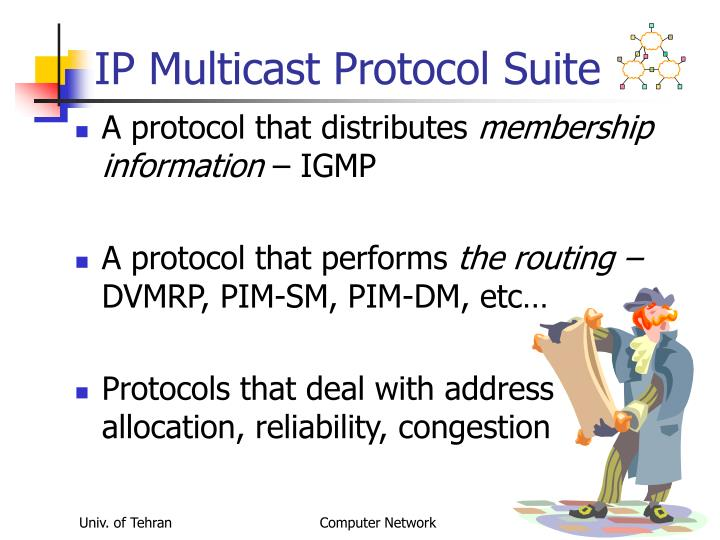 IP Multicast Protocol Suite