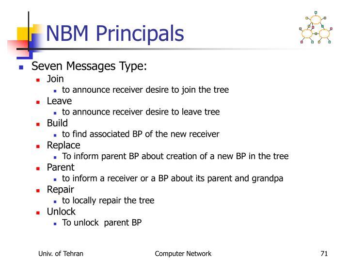 NBM Principals