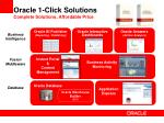 oracle 1 click solutions complete solutions affordable price