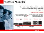 the oracle alternative1