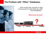 the problem with other databases2