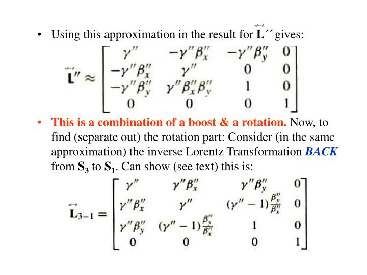 Using this approximation in the result for