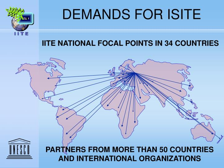 DEMANDS FOR ISITE