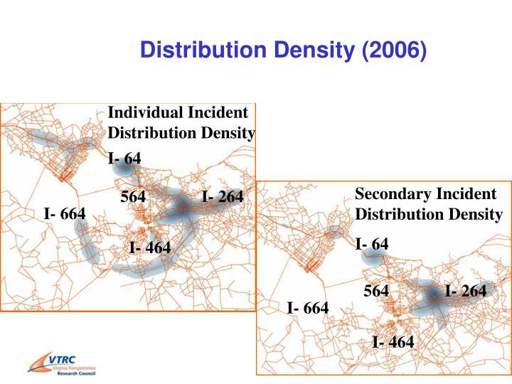 Distribution Density (2006)