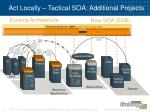 act locally tactical soa additional projects
