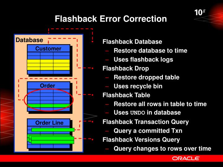 Flashback Error Correction