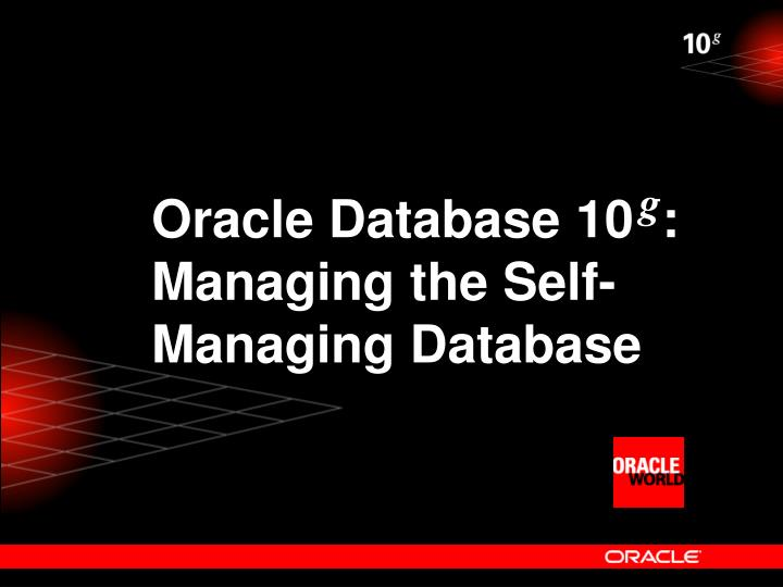 Oracle Database 10