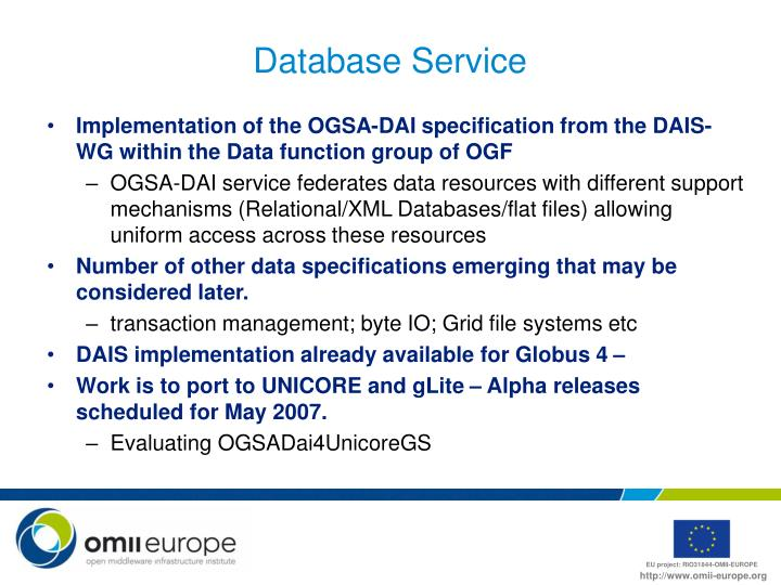 Database Service