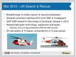 mar 2013 uk search rescue