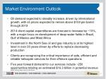 market environment outlook