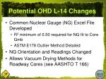 potential ohd l 14 changes1