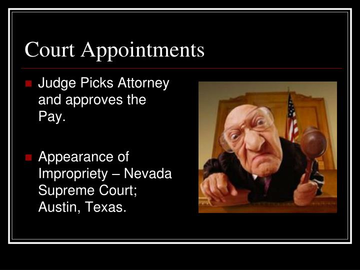 Court Appointments