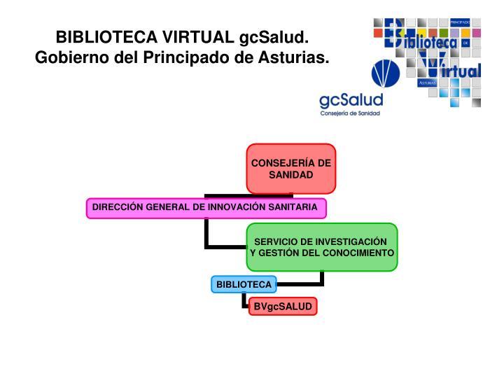 Biblioteca virtual gcsalud gobierno del principado de asturias