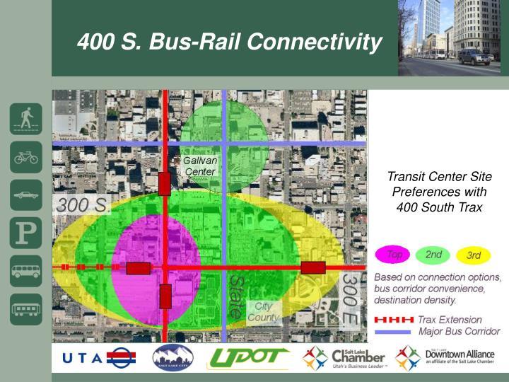 400 S. Bus-Rail Connectivity