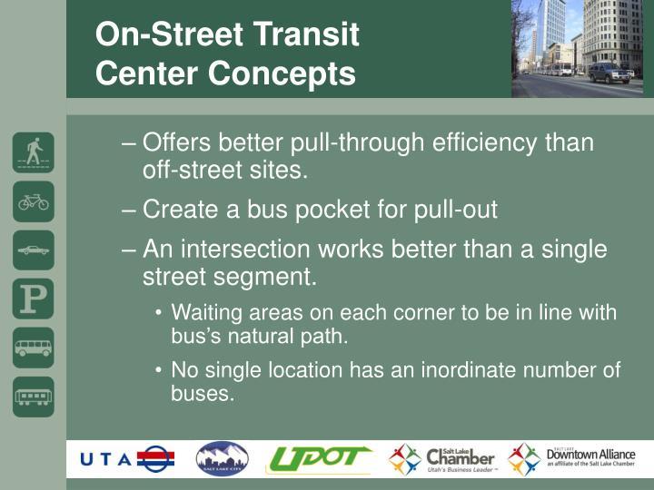 On-Street Transit