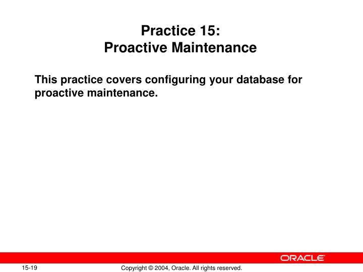 Practice 15: