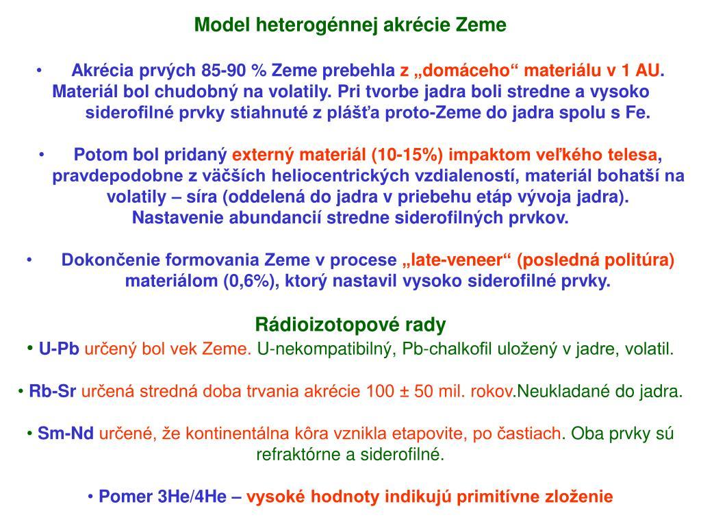 Online Zoznamka geografia