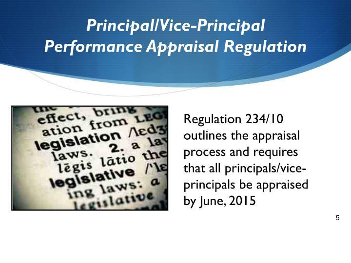 Principal/Vice-Principal