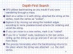 depth first search2