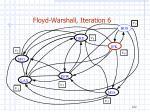floyd warshall iteration 6