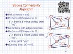 strong connectivity algorithm