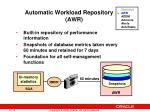 automatic workload repository awr