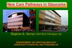 new care pathways in glaucoma