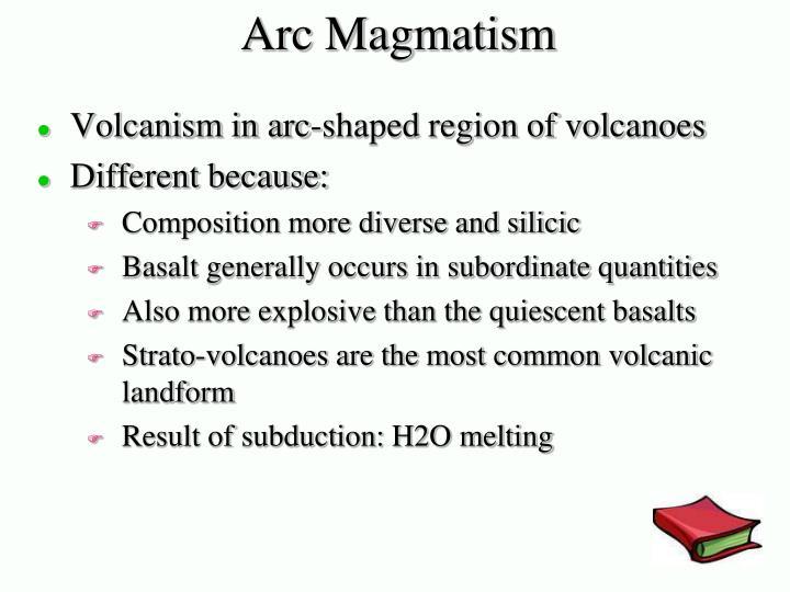Arc Magmatism