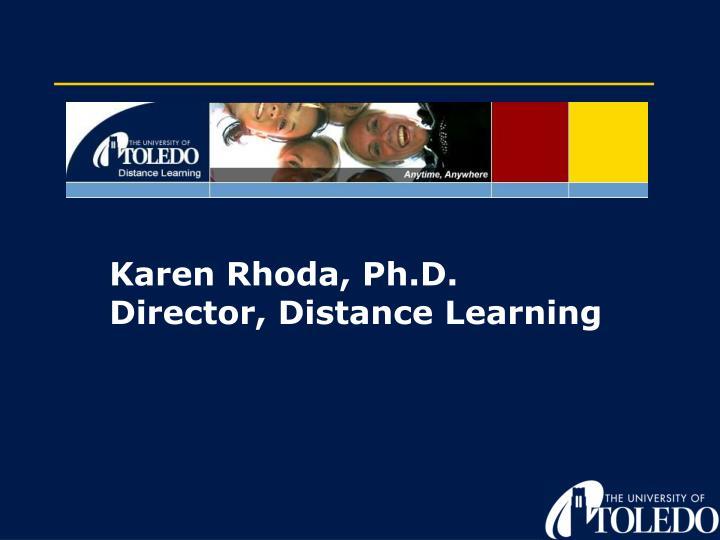 Karen Rhoda, Ph.D.