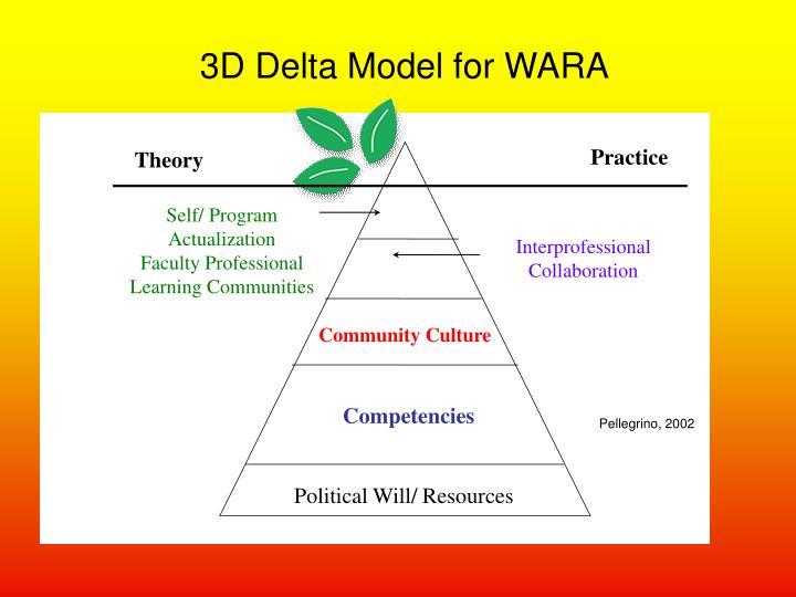3D Delta Model for WARA