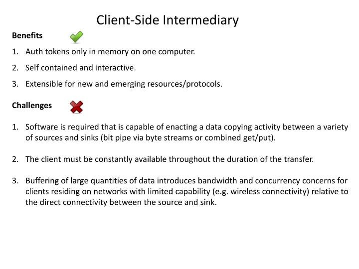 Client-Side Intermediary