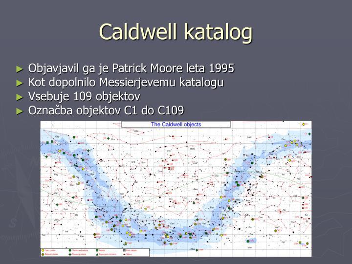 Caldwell katalog