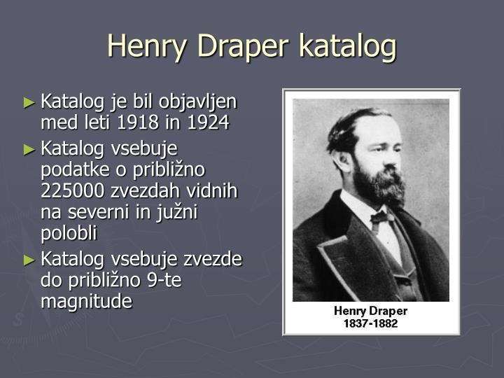 Henry Draper katalog