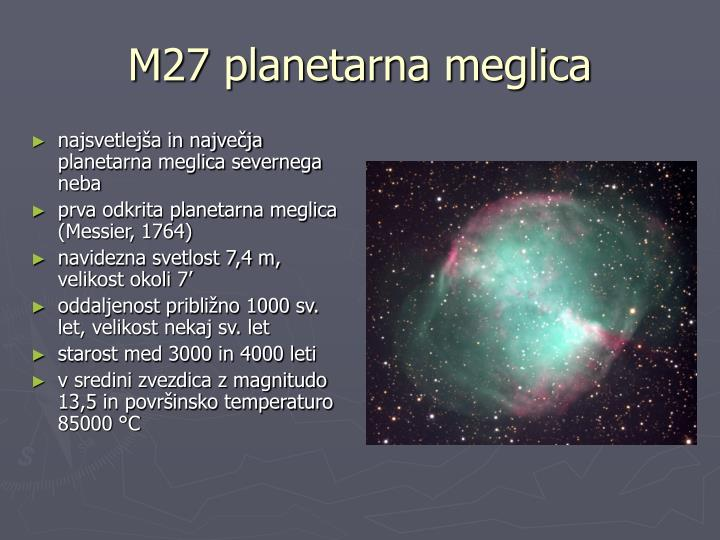 M27 planetarna meglica
