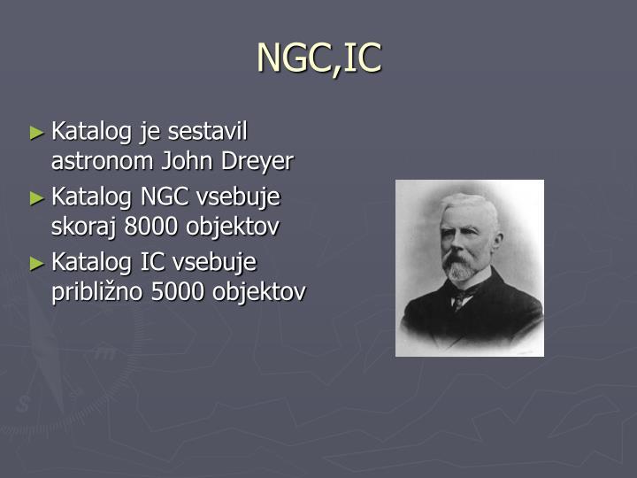 NGC,IC