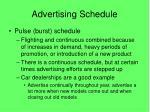 advertising schedule2